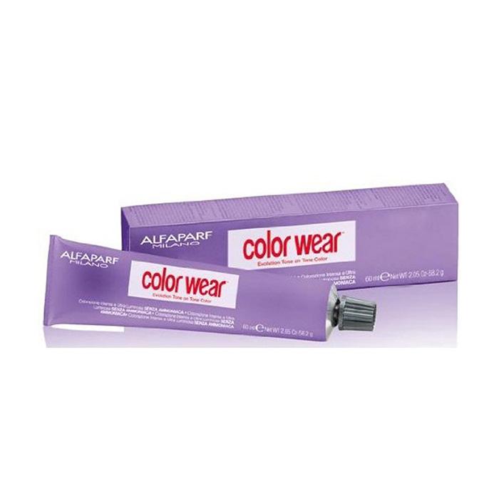 ALFAPARF COLOR WEAR METALLIC GREY BLACK 7 - 60 ml / 2.03 Fl.Oz