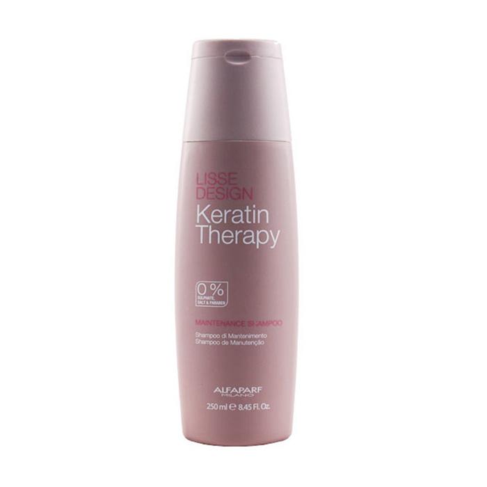 ALFAPARF LISSE MAINTENANCE SHAMPOO  250 ml - Shampoo alla cheratina senza Solfati e Sali. Prolunga l'effetto liscio.