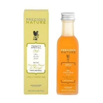 ALFAPARF PRECIOUS NATURE LONG STRAIGHT HAIR OIL - Olio che districa e condiziona. Per capelli lisci