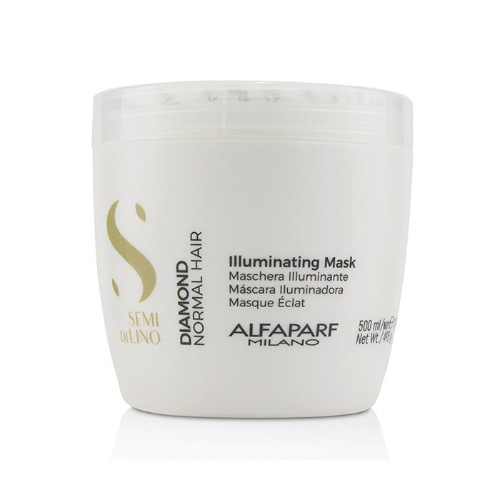 ALFAPARF SEMI DI LINO DIAMOND ILLUMINATING MASK 500 ml / 16.90 Fl.Oz