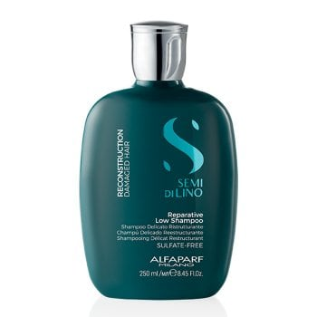 ALFAPARF SEMI DI LINO REPARATIVE SHAMPOO LOW 250 ml / 8.45 Fl.Oz