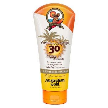 AUSTRALIAN GOLD PREMIUM COVERAGE SPF 30 LOTION SUNSCREEN 177 ml / 6.00 Fl.Oz