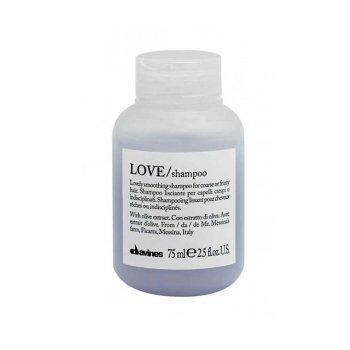 DAVINES ESSENTIAL HAIRCARE LOVE SMOOTH SHAMPOO 75 ml / 2.50 Fl.Oz