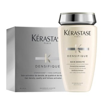 KERASTASE KIT DENSIFIQUE FEMME (BAIN DENSITE 250 ml + 30 FIALE x 6ml / 0.20 Fl.Oz)