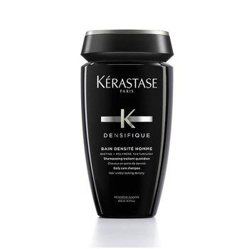 KERASTASE DENSIFIQUE BAIN DENSITE' HOMME 250 ml - Shampoo da uomo che dona densità e spessore ai capelli diradati. Capelli più forti e più folti
