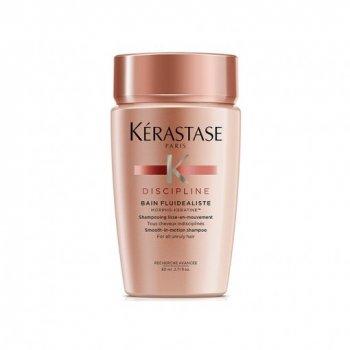 KERASTASE DISCIPLINE BAIN FLUIDEALISTE 80 ml - Shampoo per capelli indisciplinati da sottili a normali