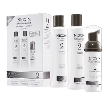 NIOXIN 3D CARE SYSTEM KIT 2 - NATURAL HAIR PROGRESSED THINNING