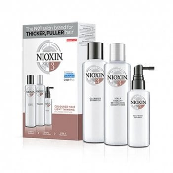 NIOXIN 3D CARE SYSTEM KIT 3 - COLORED HAIR LIGHT THINNING
