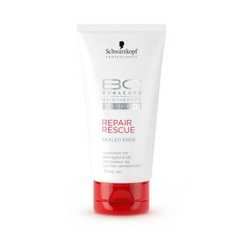 SCHWARZKOPF BONACURE REPAIR RESCUE SEALED ENDS 75 ml / 2.54 Fl.Oz