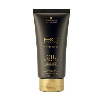 SCHWARZKOPF BONACURE OIL MIRACLE GOLD SHIMMER CONDITIONER 150 ml / 5.07 Fl.Oz