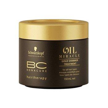 SCHWARZKOPF BONACURE OIL MIRACLE GOLD SHIMMER TREATMENT 150 ml / 5.07 Fl.Oz