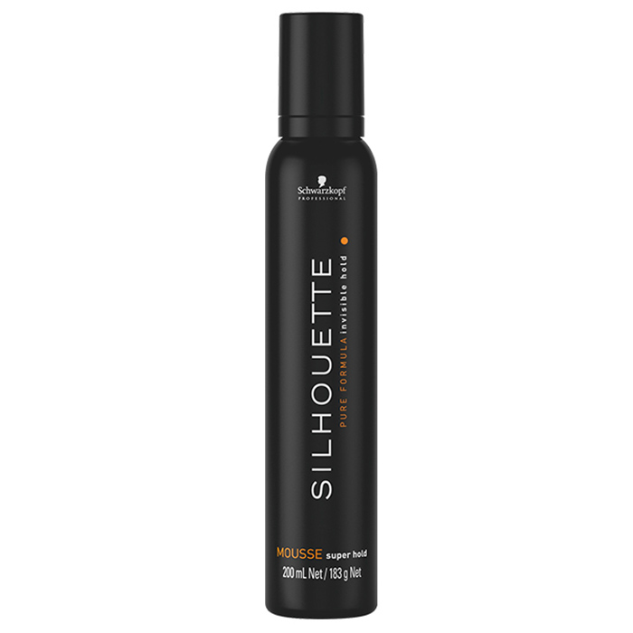 SCHWARZKOPF SILHOUETTE SUPER HOLD MOUSSE 200 ml / 6.76 Fl.Oz