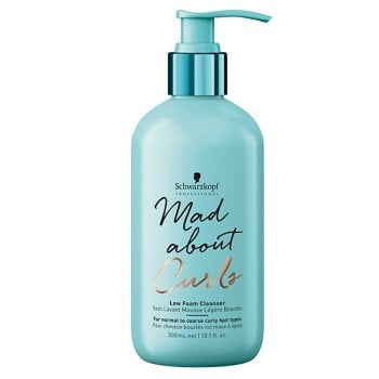 SCHWARZKOPF MAD ABOUT CURLS LOW FOAM CLEANSER 300 ml / 10.10 Fl.Oz