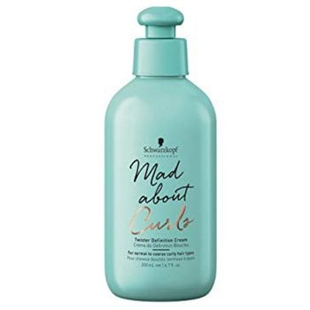 SCHWARZKOPF MAD ABOUT CURLS TWISTER DEFINITION CREAM 200 ml / 6.70 Fl.Oz