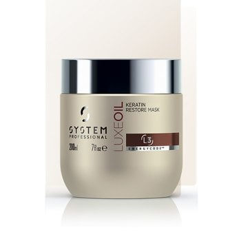 WELLA SYSTEM PROFESSIONAL LUXE OIL KERATIN RESTORE MASK 200 ml / 6.76 Fl.Oz
