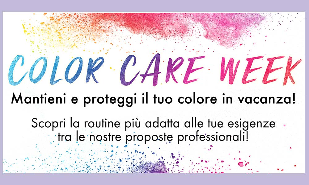 COLOR CARE WEEK