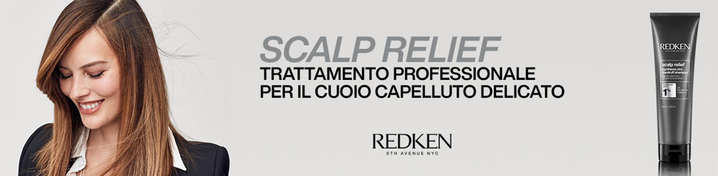 SCALP RELIEF - CUTE SENSIBILE, FORFORA E SEBO
