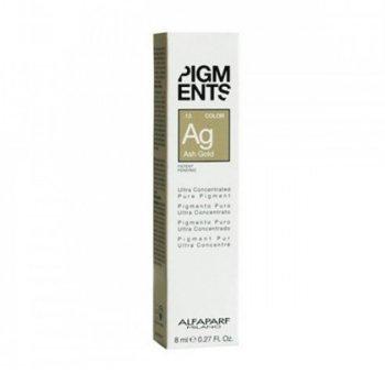 ALFAPARF PIGMENTS AG ASH GOLD .13  8 ml / 0.27 Fl.Oz