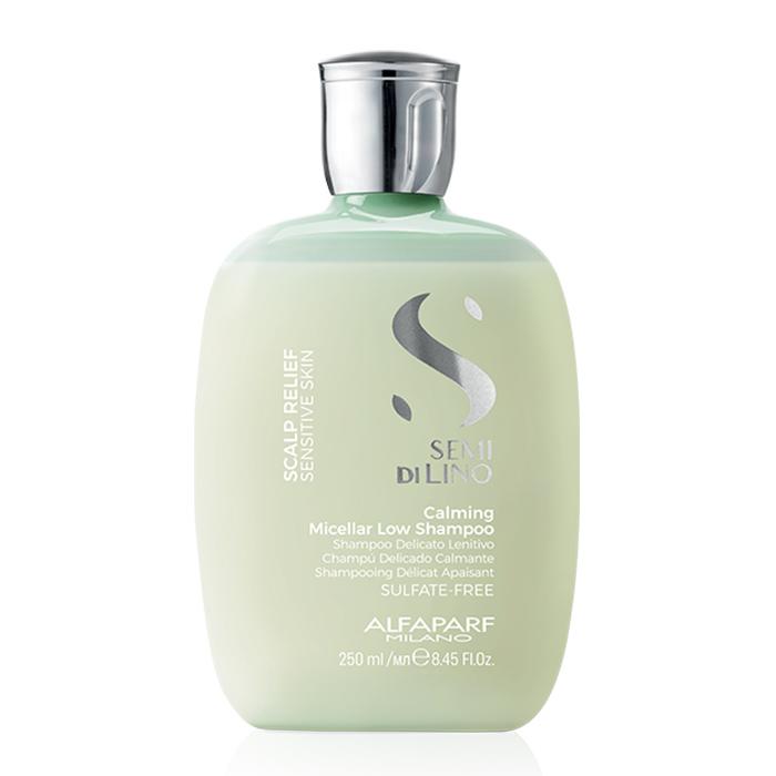 ALFAPARF SEMI DI LINO SCALP RENEW CALMING MICELLAR LOW SHAMPOO 250 ml - Shampoo delicato lenitivo per cute sensibile