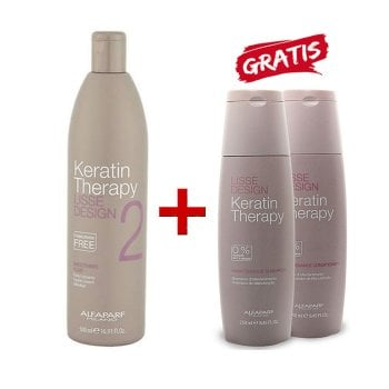 KIT ALFAPARF - LISSE SMOOTHING FLUID E MANTENIMENTO