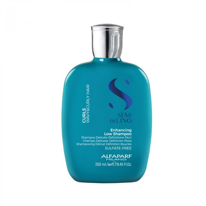 ALFAPARF SEMI DI LINO CURLS ENHANCING LOW SHAMPOO 250 ml / 8.45 Fl.Oz