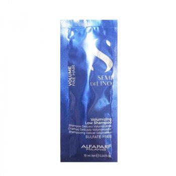 ALFAPARF SEMI DI LINO VOLUME MONODOSE VOLUMIZING SHAMPOO 10 ml - Shampoo volumizzante e corporizzante per capelli fini.