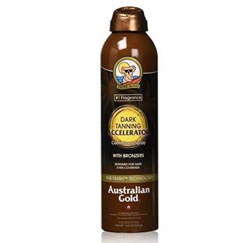AUSTRALIAN GOLD DARK TANNING ACCELERATOR CONTINUOUS SPRAY 177 ml / 6.00 Fl.Oz