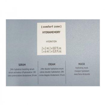 COMFORT ZONE HYDRAMEMORY TRIS MONODOSE SERUM, CREAM, MASK