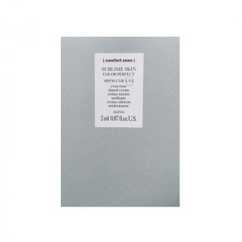 COMFORT ZONE SUBLIME SKIN COLOR PERFECT SPF50 2 ml / 0.07 Fl.Oz