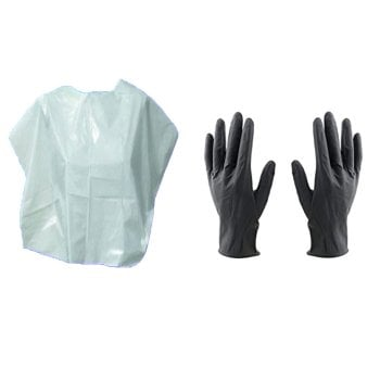 DISPOSABLE GLOVES AND CAP KIT