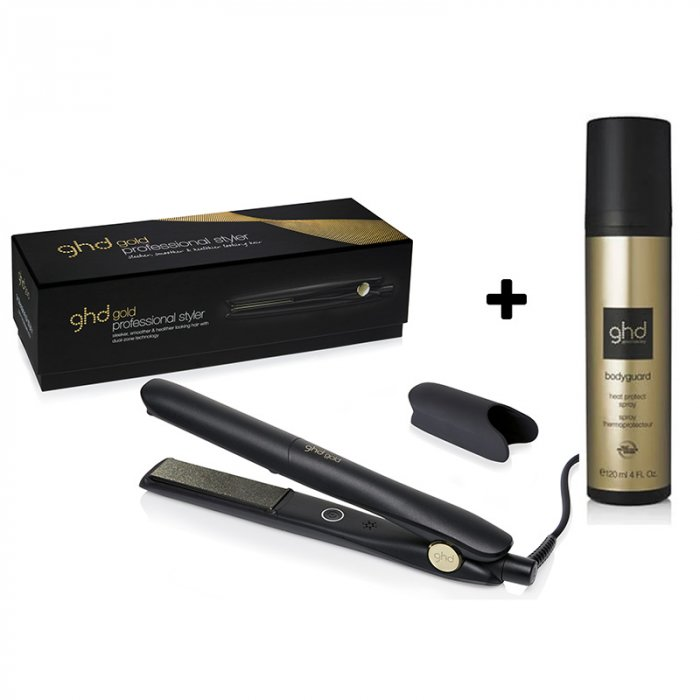 GHD GOLD PROFESSIONAL STYLER - GHD HEAT PROTECT SPRAY 120 ml