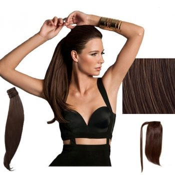 HAIRDO SMOOTH TAIL 46CM - COPPER MAHOGANY BROWN