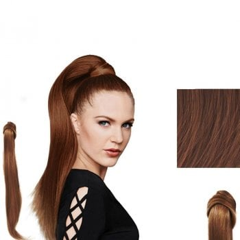 HAIRDO SMOOTH TAIL 64CM - COPPER MAHOGANY BROWN