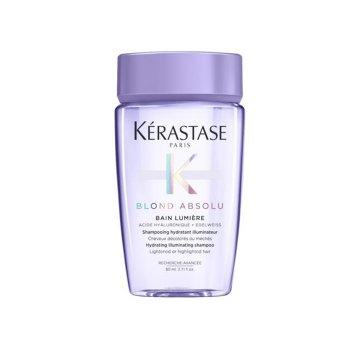 KERASTASE BLOND ABSOLU BAIN LUMIERE 80 ml - Shampoo idratante e illuminante per capelli biondi e decolorati