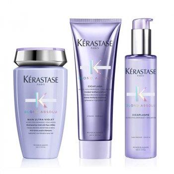 KERASTASE - BLOND ABSOLU RITUEL - BAIN ULTRA VIOLET-CICAFLASH-CICAPLASME