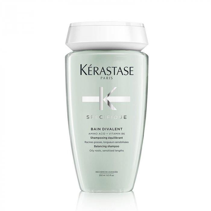 KERASTASE SPECIFIQUE BAIN DIVALENT 250 ml - Shampoo equilibrante per radici grasse e lunghezze sensibilizzate