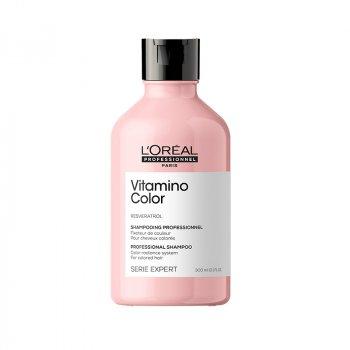 L'OREAL SERIE EXPERT VITAMINO COLOR SHAMPOO 300 ml - Shampoo per capelli colorati. Azione anti-sbiadimento del colore.