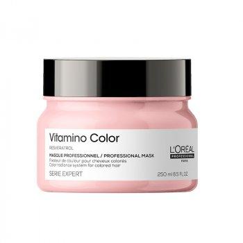 L'OREAL SERIE EXPERT VITAMINO COLOR MASK 250 ml - Maschera per capelli colorati. Azione anti-sbiadimento del colore.