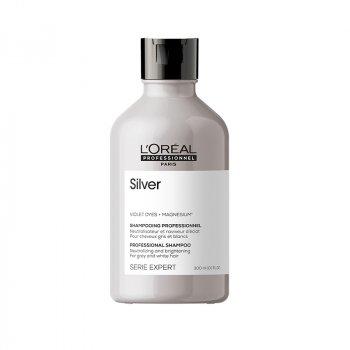 L'OREAL SERIE EXPERT SILVER SHAMPOO 300 ml / 10.1 Fl.Oz