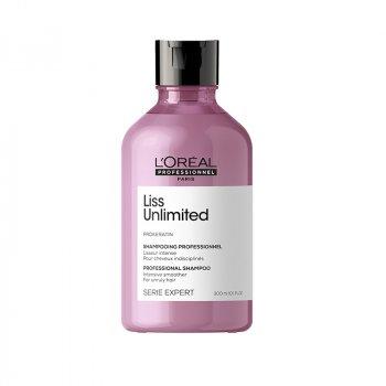 L'OREAL SERIE EXPERT LISS UNLIMITED SHAMPOO 500 ml - Shampoo per capelli crespi. Effetto anti-crespo.