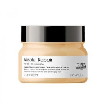 L'OREAL SERIE EXPERT ABSOLUT REPAIR MASK 250 ml - Maschera per capelli danneggiati. Ripara e nutre.