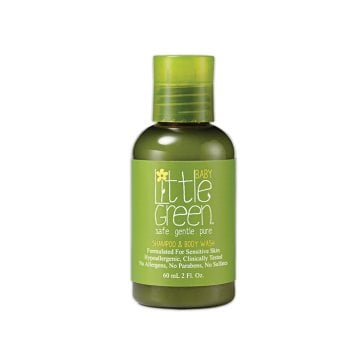 LITTLE GREEN BABY SHAMPOO E BODY WASH 60 ml / 2.00 Fl.Oz