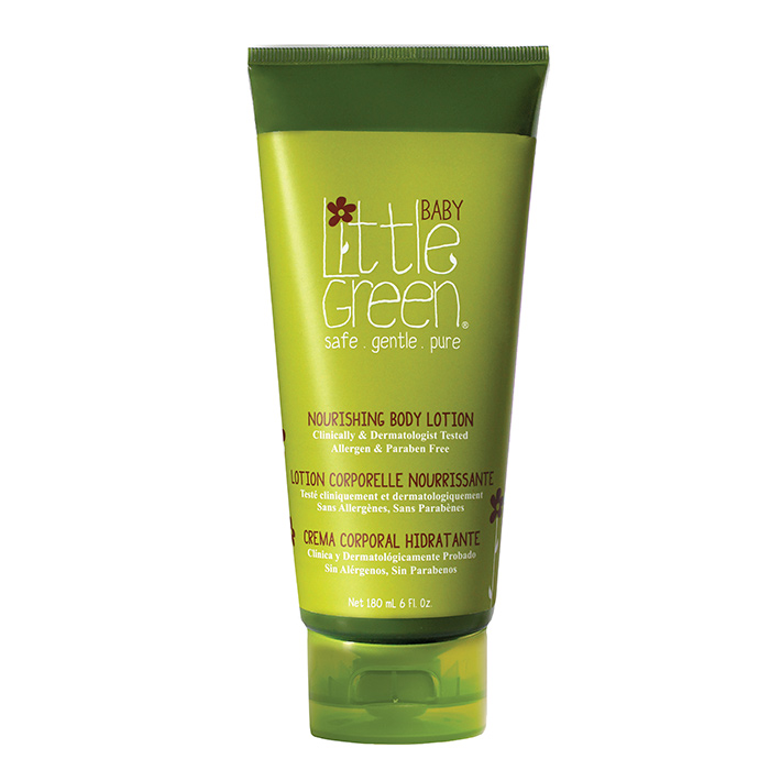 LITTLE GREEN BABY NOURISHING BODY LOTION 180 ml / 6.00 Fl.Oz