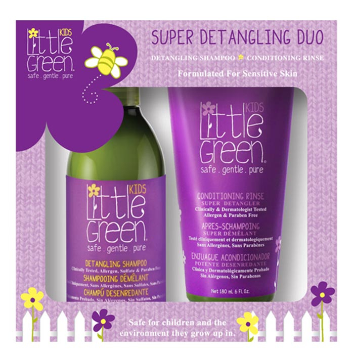 LITTLE GREEN KIDS SUPER DETANGLING DUO