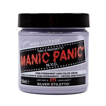 MANIC PANIC CLASSIC HIGH VOLTAGE SILVER STILETTO 118 ml / 4.00 Fl.Oz