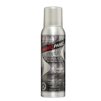 MANIC PANIC AMPLIFIED SILVER STILETTO TEMPORARY SPRAY 100 ml / 3.38 Fl.Oz