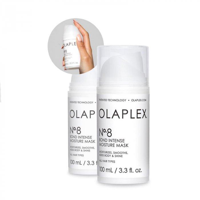 OLAPLEX N°8 BOND INTENSE MOISTURE MASK N° 8 100 ML - Maschera per capelli danneggiati