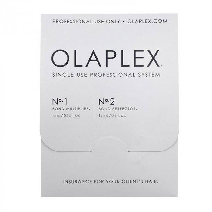 OLAPLEX - MONODOSE N°1 4 ml - N°2 15 ml
