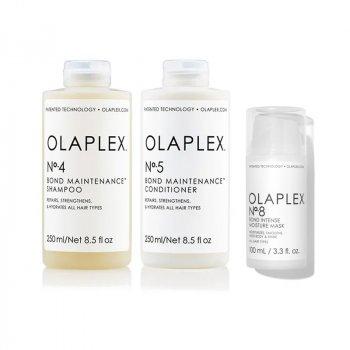 OLAPLEX - INTENSE REPAIR SYSTEM 4-5-8