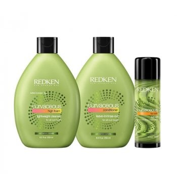 REDKEN CURVACEOUS SHAMPOO-CONDITIONER-FULL SWIRL